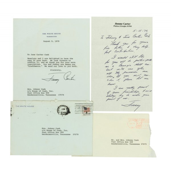254: Group of Three Letters From President Jimmy Carter