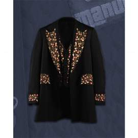 263: JOHNNY CASH MANUEL FLORAL EMBROIDERED THREE-PIECE
