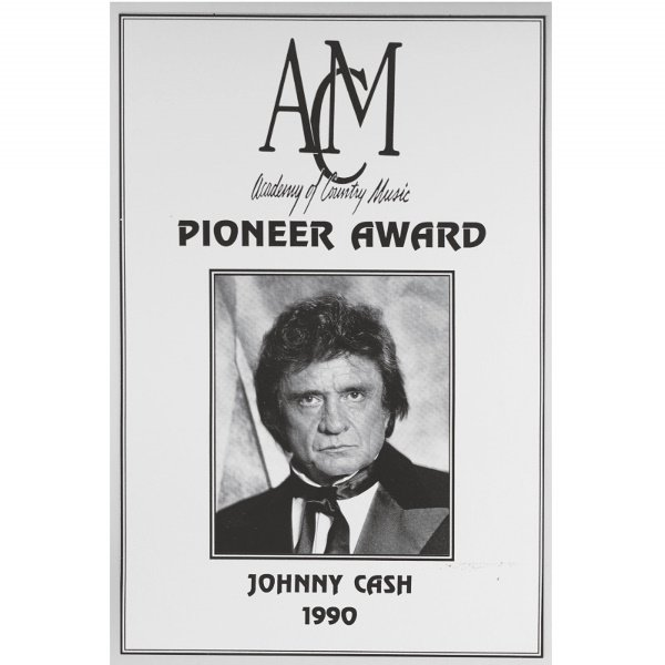 501: 1990 Academy of Country Music Pioneer Award Presen