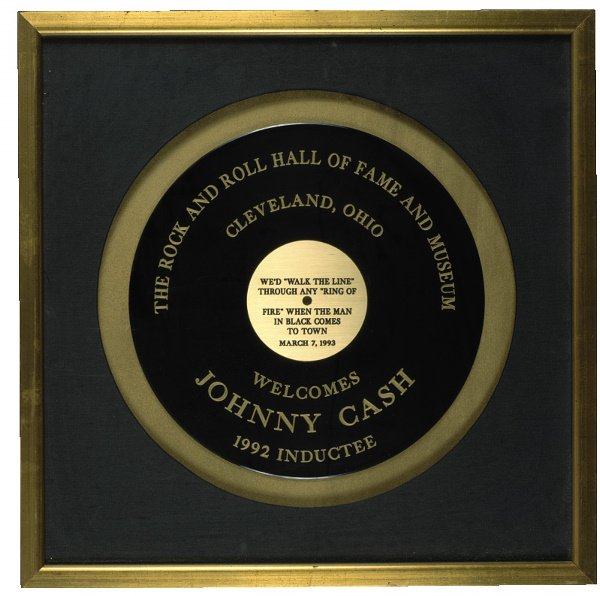 507: 1992 Rock and Roll Hall of Fame Museum Induction P