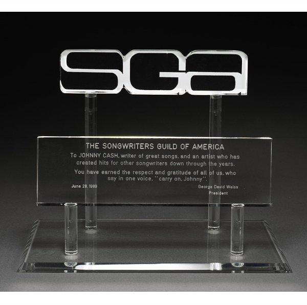 510: Aggie Lifetime Achievement Award presented to John