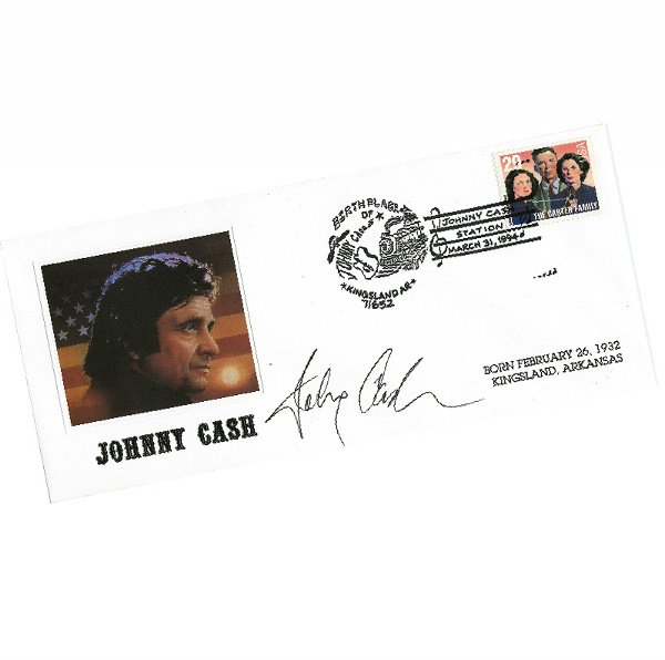 522: Group of 1993 AMERICAN MUSIC FIRST DAY COVERS SIGN