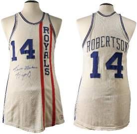 127: Oscar Robertson 1967 Cincinnati Royals Home Unifor