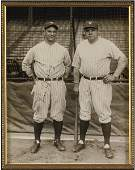 184: 1927 Lou Gehrig Signed Original Wire Photograph wi