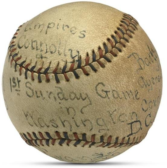 7: Baseball Commemorating First Sunday Major League Bas