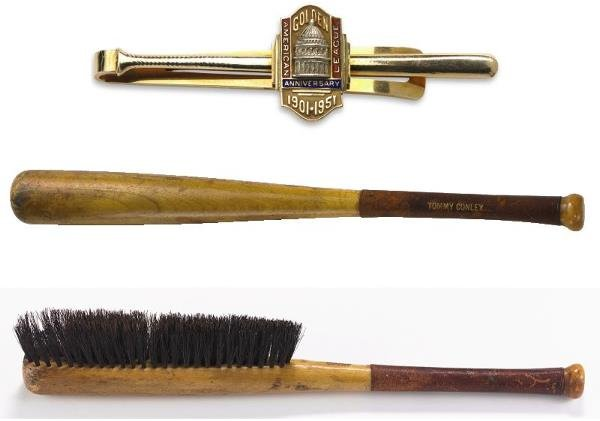 16A: Tommy Connolly's Home Plate Brush And American Lea