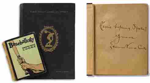 """36: Tris Speaker's Personal Copy of """"Who's Who in Ameri"""