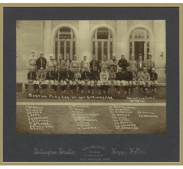 170: 1912 Boston Red Sox Team Cabinet Photograph      T