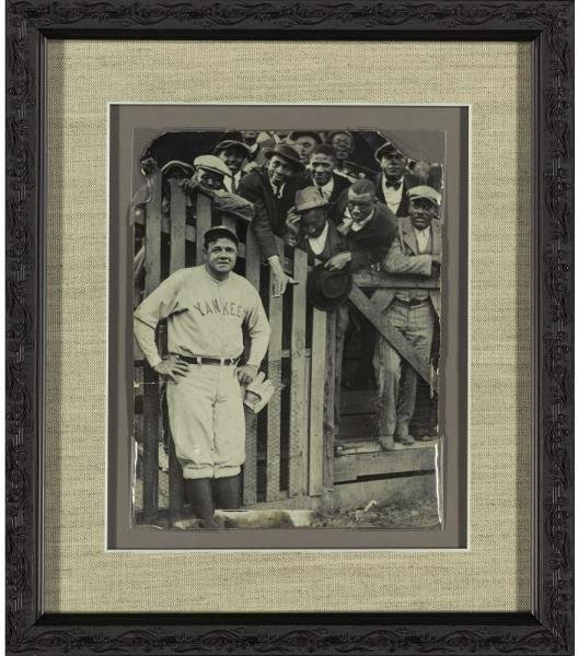 182: Significant Babe Ruth photograph c.1927-28     Rut