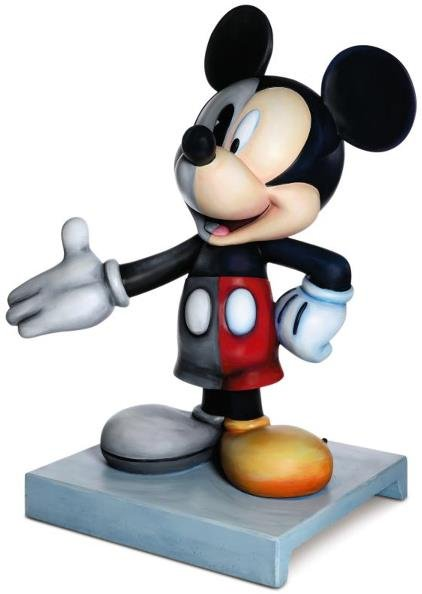 """1: """"Mickey Through the Years """" Mickey Statue: Tuck Morg"""