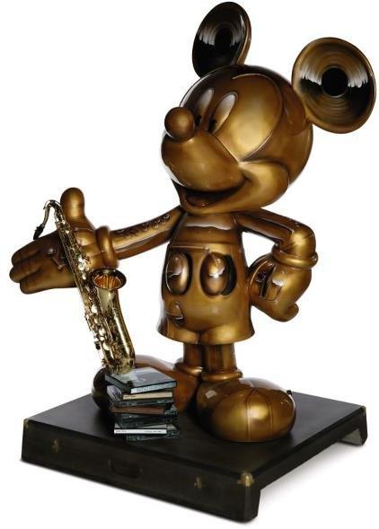 2: Saxophonic Mickey Mickey Statue: Dave Koz,   Grammy&