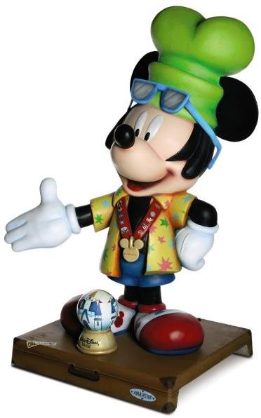 "3: ""I'm Going to Disney World"" Mickey Statue Mickey Sta"