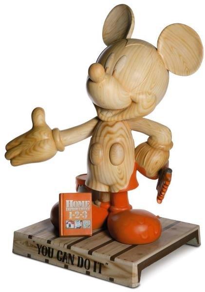6: You Can Do It Mickey Statue: Elva Salinas,  Home Dep