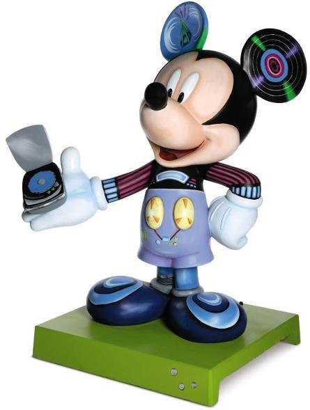 8: Tune In Mickey Statue: Anthony Rietta,  Radio Disney