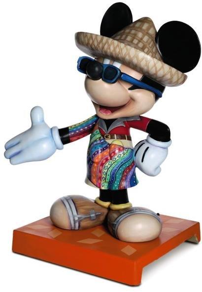 10: Viva Mickey Mickey Statue: Luis Armand Garcia for G