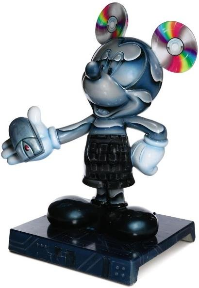 12: The Original Mouse Pad Mickey Statue: Jamie Lee Cur