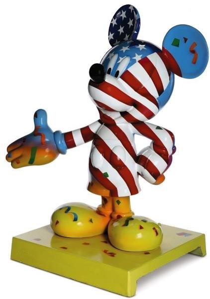 14: Mickey Celebrates Our Freedom Mickey Statue: Paul W