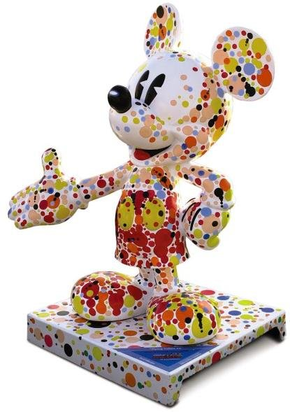 18: Flying Colors #3 Mickey Statue: Dave Willardson,  D