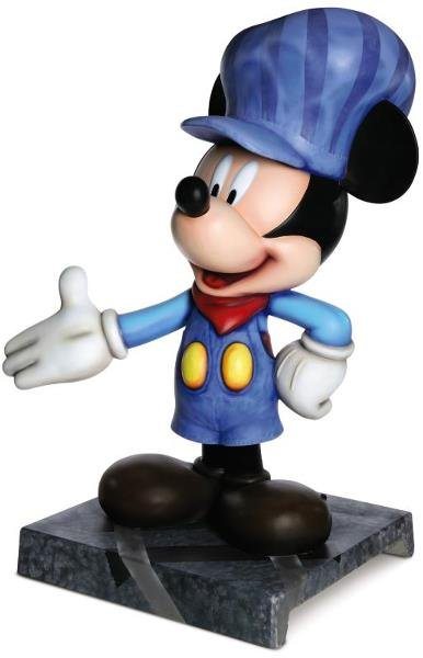 20: All Aboard! Mickey Statue: Ollie Johnston,   OLLIE