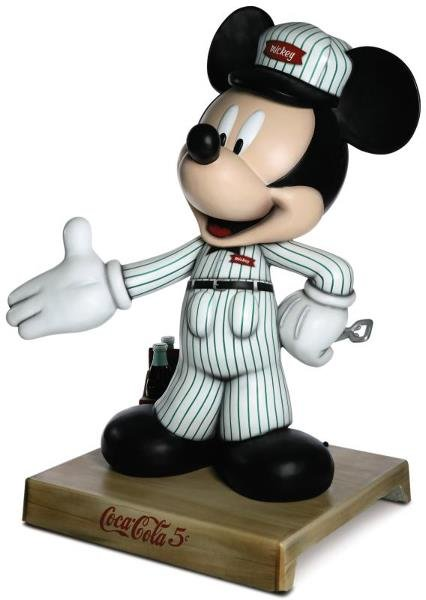21: Delivery Man Mickey Mickey Statue: Kelly Kozel & Sh