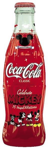 22:  Celbrate Mickey 75 InspEARations Coke Bottle  Coca
