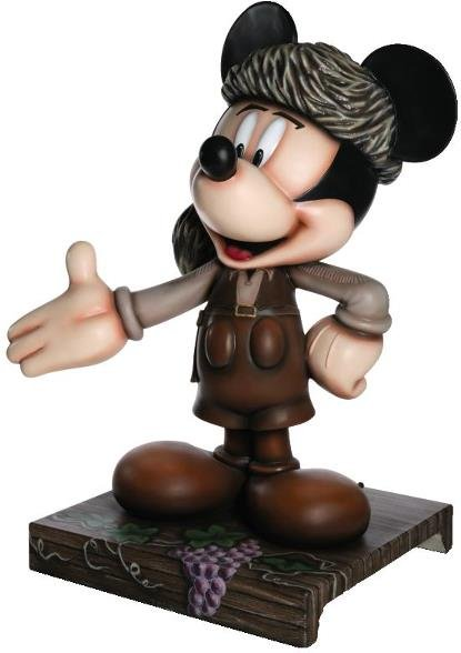 24: FrontEAR Tales Mickey Mickey Statue: Fess Parker,