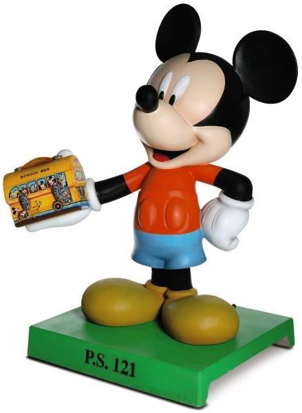 43: Back to School Mickey Statue: Al Konetzni,  AL KONE