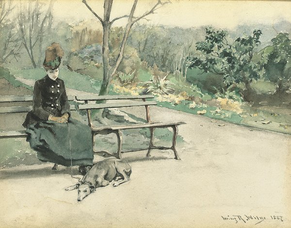 3: Irving Ramsay Wiles 1861-1948