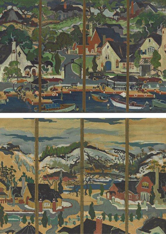 114: Preston Dickinson 1891-1930
