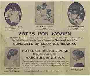 """A """"Votes For Women"""" Leaflet"""
