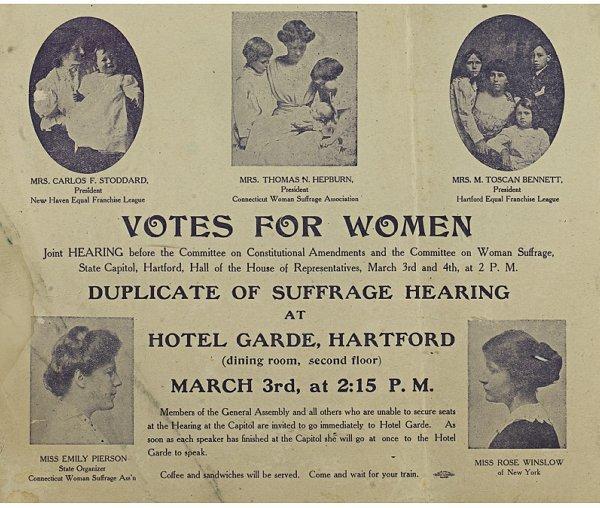 """5: A """"Votes For Women"""" Leaflet"""