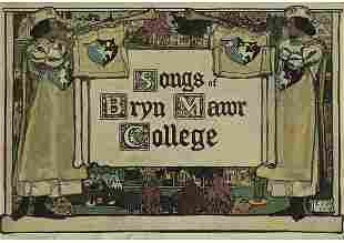 A Copy of Songs of Bryn Mawr College