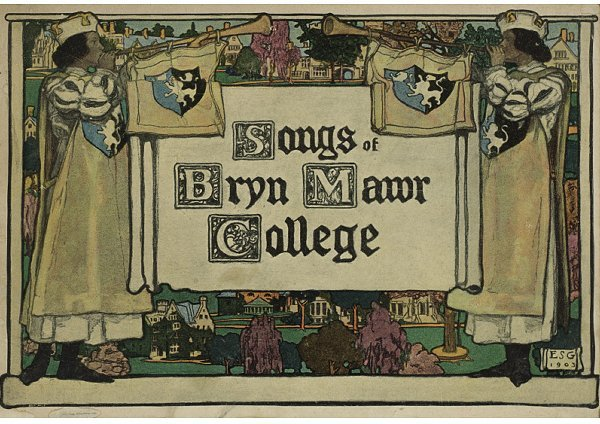 8: A Copy of Songs of Bryn Mawr College