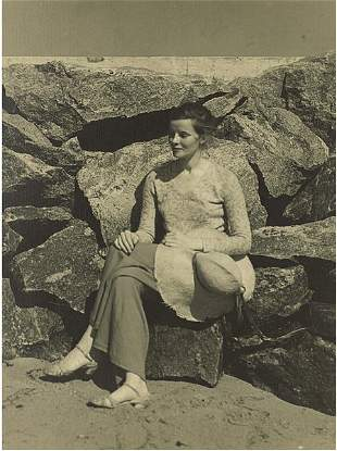 Five Photographs of Katharine Hepburn in Her Early