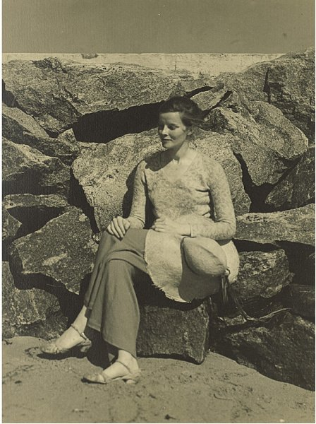 10: Five Photographs of Katharine Hepburn in Her Early