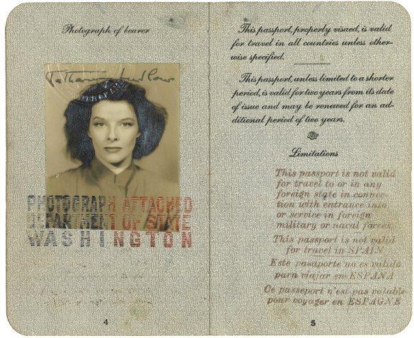 16: A 1938 Katharine Ludlow Passport and International