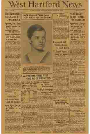 The West Hartford Newspaper, October 23, 1931