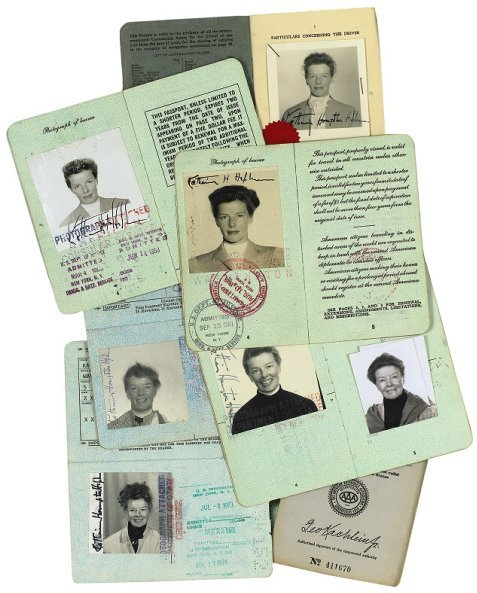 242: A 1956 Passport and International Driver's License