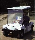 Katharine Hepburn's Golf Cart