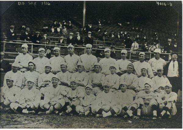 7: Original Team Photograph of the 1916 World Champion