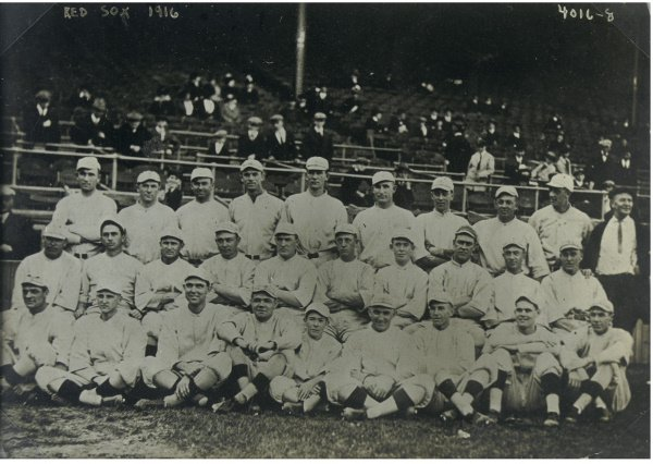 7: Original Team Photograph of the 1916 World Champion