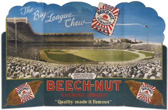 18: 1926 Beech-Nut Tobacco World Series Yankee Stadium
