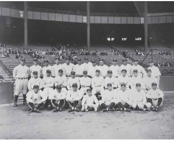 20: Period 1927 New York Yankees Team Photograph