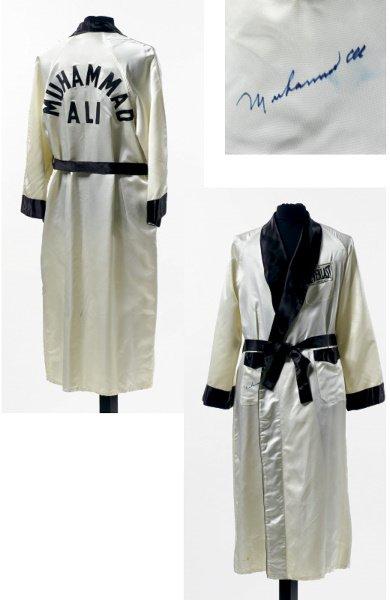 144: Muhammad Ali Fight Worn Robe vs. Chuck Wepner-Marc
