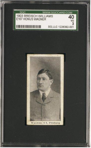 158: 1903-4 Breisch Williams Type-1 (E107) Honus Wagner