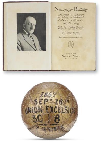 3: Jason Rogers' Own 1857 Trophy Ball Between the Morri