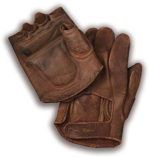 8: Nineteenth-Century Fingerless Baseball Glove with Ma