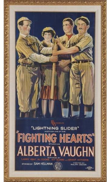 11: Rare Fighting Hearts Three-Sheet Movie Poster   Thi