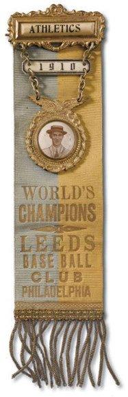12: 1910 Philadelphia Athletics Ornate World Champions