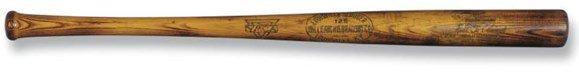 13: Eddie Collins c. 1917-21 H B Pro Model Bat    Eddie